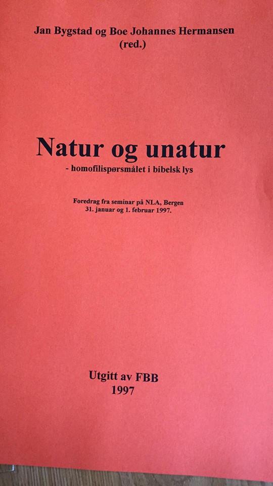 Bokomslag - Natur og unatur