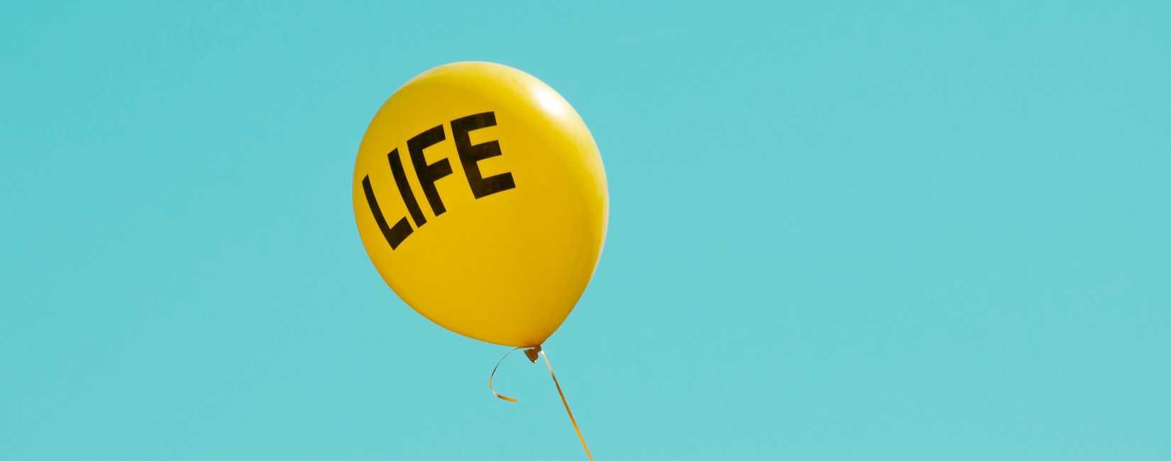 Life ballong