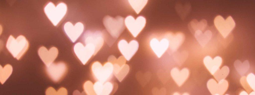 Abstrakte hjerter