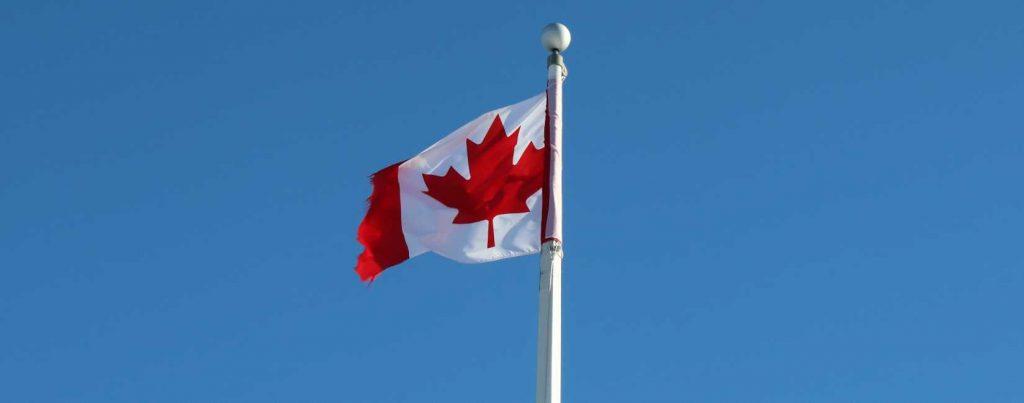 Canada flagg