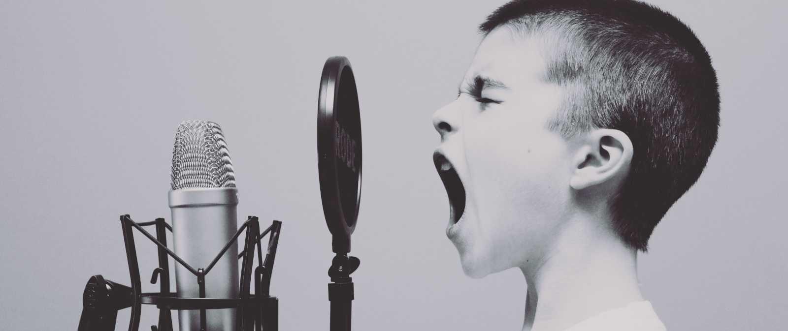 Synge - mikrofon