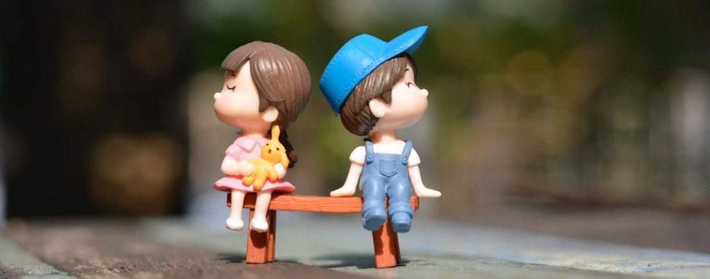 Jente og gutt