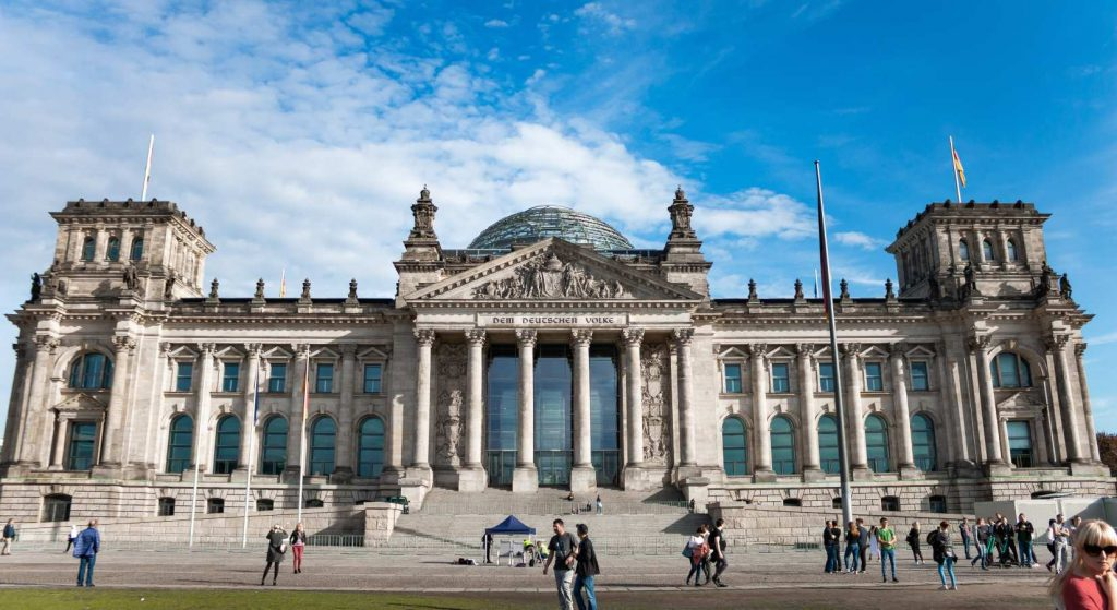 Reichstag i Berlin