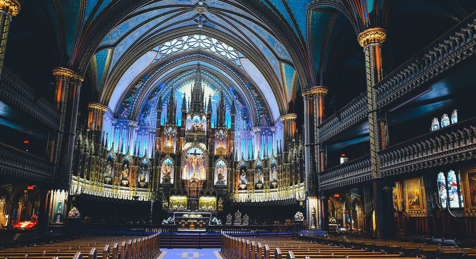 Basilique Notre Dame de Montréal, Montréal, Canada