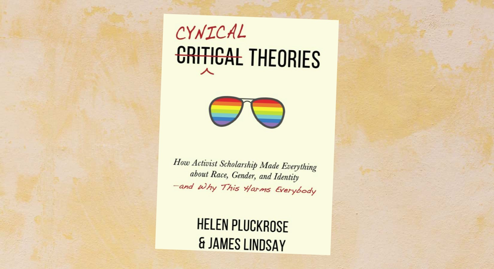 Foto: Bokomslag av Cynical Theories